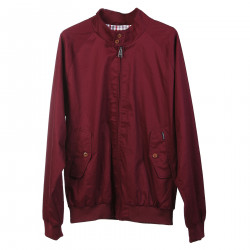 BORDEAUX JACKET WITH LISTING NECK