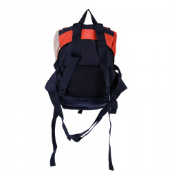 BLUE RED AND PINK BACKPACK