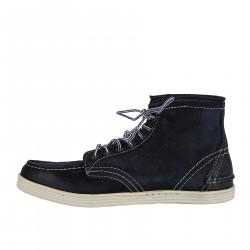 BLUE SUEDE HIGH SNEAKER
