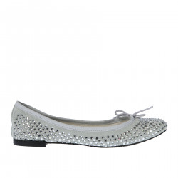 FLAT SHOE WITH STONES