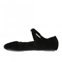 PONY FLAT SHOE WITH LACE