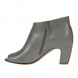 COLOR TURTLE LEATHER BOOTS