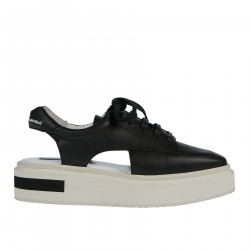 LEATHER OPEN SNEAKER