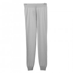 BEIGE CASHMERE TROUSERS