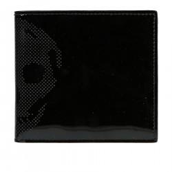 BLACK WALLET SKULL DETAIL