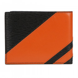 BICOLOR LEATHER WALLET