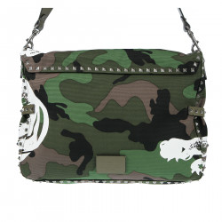 CAMOUFLAGE SHOULDERBAG PANTHER PRINT