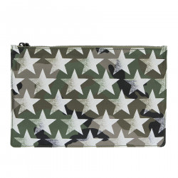 CAMOUFLAGE CLUTCH WITH STAR