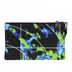 BLACK CLUTCH MULTICOLOR FANTASY
