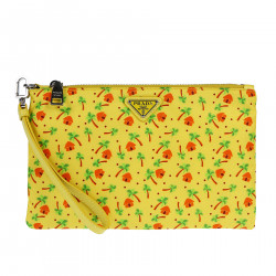 YELLOW FANTASY CLUTCH