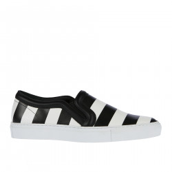 SLIP ON BICOLOR IN PELLE