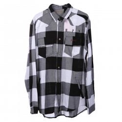 BLACK AND WITHE SQUARE SHIRT