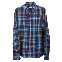 CHECKED SHIRT WITH BREAST POCKET