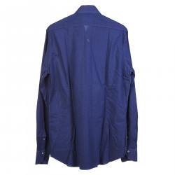BLUE STRIPED COTTON SHIRT