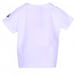 T SHIRT BIANCA CON STAMPA FRONTALE