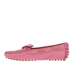 PINK LEATHER LOAFER
