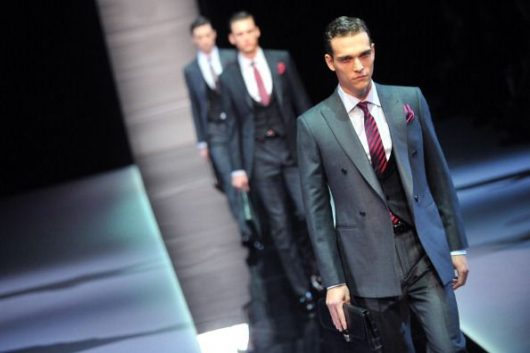 Discounted men's suits