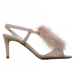 NUDE CHANEL WITH ECO FUR