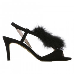 BLACK CHANEL WITH ECO FUR