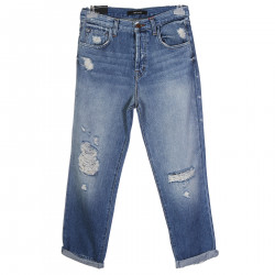 IVY HIGH RISE JEANS BLU