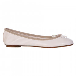 LIGHT PINK SOFT LEATHER FLAT