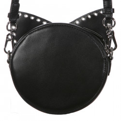 ROUND BAG WITH CAT EARS