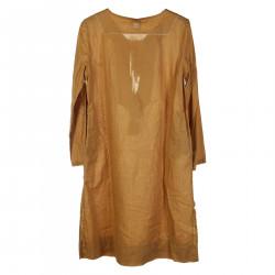 AMBRA DARK YELLOW DRESS