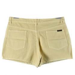 SHORTS IN COTONE BEIGE