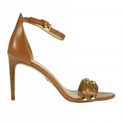 CAMEL COLOR HIGH SANDAL
