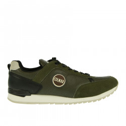 MILITARY LEATHER SNEAKER