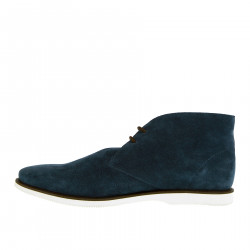 BLUE SUEDE DESERT BOOT