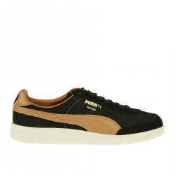 MADRID TANNED BLACK AND BROWN SNEAKER