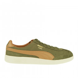 MADRID TANNED GREEN AND BROWN SNEAKER