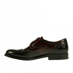 MONK BORDEAUX MODELLO PATTIE