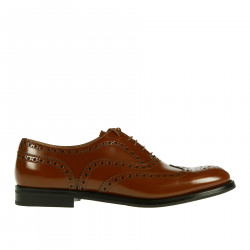 BURWOOD BROWN LACE UP SHOE