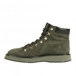 GREY SUEDE HIKING BOOT