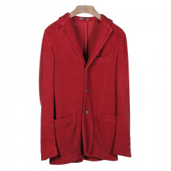 TERRY CLOTH CHERRY BLAZER
