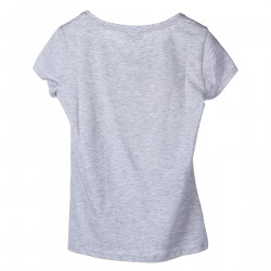 T SHIRT GRIGIA CON STAMPA