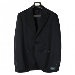 1BLACK WOOL BLAZER