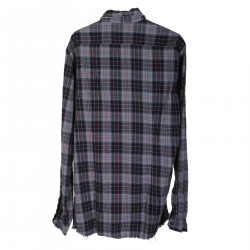 GRAY CHECKED SHIRT USED EFFECT