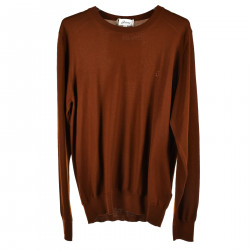 BROWN LONG SLEEVES SWEATER