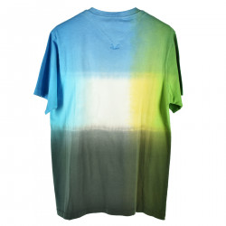 T SHIRT MULTICOLOR CON STAMPA FRONTALE