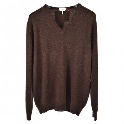 BROWN CASHMERE SWEATER