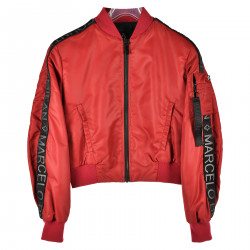 BOMBER ROSSO