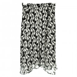 WHITE AND BLACK SAELS FANTASY SKIRT