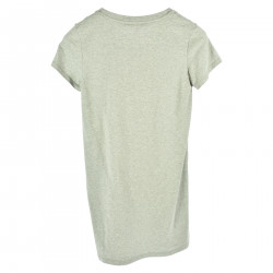 GRAY T SHIRT WITH FRONTAL WRITE