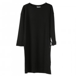 BLACK DRESS LONG SLEEVES