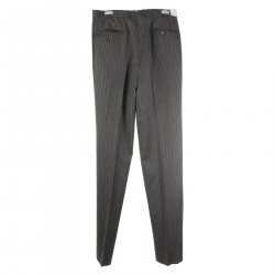 DELTA PINSTRIPE GREY PANTS
