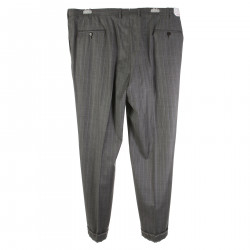 RHO GREY PINSTRIPE PANTS