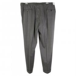 RHO GREY PINSTRIPE PANTS